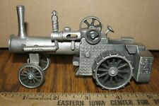 Case Steam Engine Tractor 1/43 Spec Cast Pewter Toy ZJD6 Eagle Globe Logo 1980's