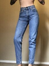 Levi's 550 Vintage High Waisted Tapered Leg Jeans Medium Wash Women's Size 5