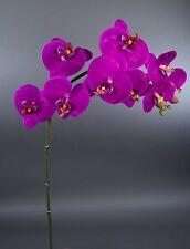 Orchideenzweig Real Touch 100cm fuchsia GA Kunstblumen künstliche Orchidee