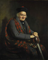 """oil painting handpainted on canvas """"Portrait of Patrick Grant (1713-1824)"""""""