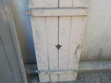 1 Paar Holzläden Fensterladen Ca,100 Jahre alt