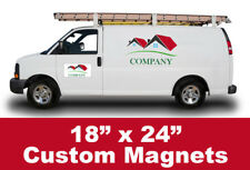 Custom Magnetic Signs Car Truck SUV 18x24 365 Media Group