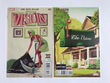 The Vision #2 3Tom King Story NM or Better