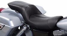 Danny Gray black leather lowist 2 up seat FA-DGE-0291 for Harley 2006-2017 FXD