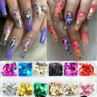 Nail Art Butterfly Glitter Sequins Nail Decoration Holographic Laser 3D Flakes