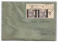 Germany 1933 Cover / House Number Reminder Cancel - Z13907