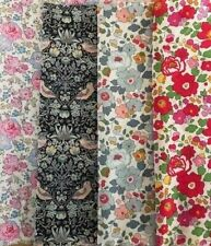 Liberty of London Tana Lawn Fabric scrap pack pink grey red 100% cotton