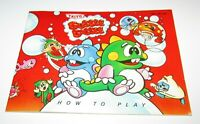 Bubble Bobble (Instruction Manual Only) Nintendo NES Fast Shipping