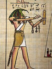 PRINT POSTER PAINTING WRITING HEIROGLYPH EGYPTiaN GOD THOTH IBIS HEAD LFMP0021