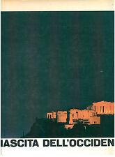 AA. VV. NASCITA DELL'OCCIDENTE MONDADORI 1964 STORIA GRECIA CLASSICA