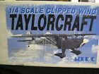 ACE 1/4 clipped wing Taylor craft RC airplane kit