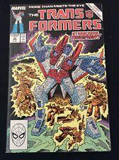 Marvel Comics The Transformers #50 NM Unread Condition Mar 1989 (box24)