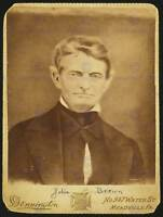 PAINTING PHOTOGRAPH PORTRAIT JOHN BROWN ABOLITIONIST SLAVERY USA POSTER CC3670