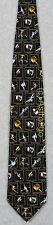 SPACE TOYS SATELLITES W/ NAMES NASA ASTRONOMY Museum Artifacts Silk Necktie NEW!