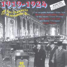 Les Chansons de CES ANNEES LA : 1919 - 1924  22 SUCCES / (1 CD) / NEUF