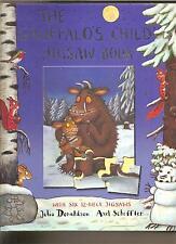 THE GRUFFALO'S CHILD JIGSAW BOOK INCLUDES 6 -  12 PIECE JIGSAWS KIDS