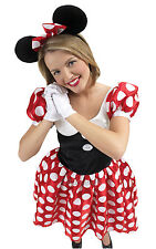 FANCY DRESS COSTUME ~ LICENCED DISNEY MINNIE MOUSE MED
