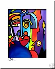 THE MASTER - CONTEMPORARY POP ART Abstract MODERN print FIDOSTUDIO