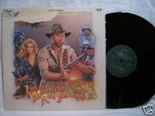 Las Minas Del Rey Salomon 33 lp soundtrack goldsmith nm