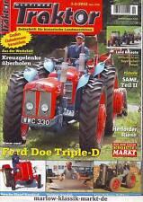 Oldtimer Traktor 1-2/12 Ford Doe Triple-D/SAME (2)/Porsche-Diesel Standard 218 H