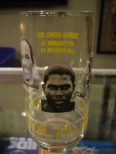 Super Bowl Xiv Pittsburgh Steelers Mcdonald'S Glass Stallworth Bleier Winston