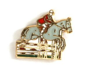 Dressage Show Jumping Horse  Enamel Tie or Lapel Pin Badge NEW 1st Class POSTAGE