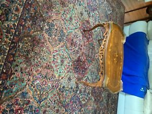 Vintage French Inlaid Coffee Table