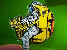 Williams SPACE STATION Original 1987 Pinball Machine Plastic Astronaut Promo