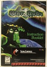 ** WarGods (Nintendo 64, N64) Manual Only Instruction Booklet Book Authentic