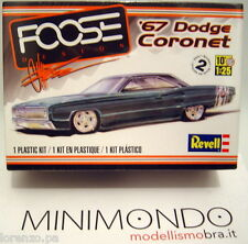 KIT 1967 DODGE CORONET FOOSE 1/25 REVELL MONOGRAM 4906