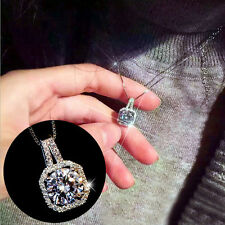Charm Exquisite Jewelry Crystal Pendant Chain Chunky Statement Choker Necklace