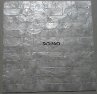 Hot 11pcs white brick capiz shell mosaic kitchen backsplash wall tile bathroom