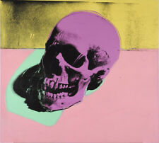 Andy Warhol Skull  Giclee Canvas Print Paintings Poster Reproduction LARGE SIZE