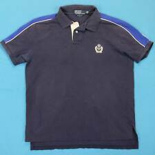 Men's Polo Ralph Lauren Vintage Shirt Size Large L 90s Custom Fit Tennis Logo