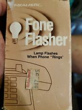 Radio Shack Fone Flasher No. 43-178 B Fone Flasher 2 Phone