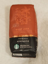 Starbucks West Java Passport Series Asia/Pacific Whole Bean Coffee (1 LB)