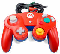 Club Nintendo Official Limited Mario Controller RED Wii Gamecube game cube BOX