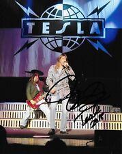 Tesla Jeff Keith Autographed 8x10 Photo (Reproduction) 5
