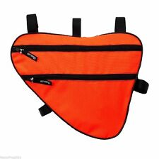 Bicycle Bike Cycle Frame Bag Case Pannier Pouch Large 2.5L/2kg ORANGE MADE IN EU