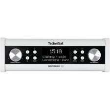 TechniSat DigitRadio 20 Küchenradio Unterbauradio DAB+ AUX UKW Uhr/Timer weiß