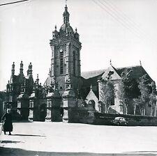 FINISTÈRE c. 1950 - 9 Photos Saint-Thégonnec Bretagne - L 51