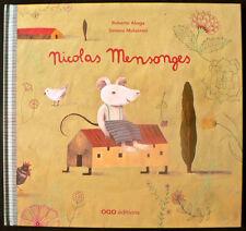 Album Jeunesse - Nicolas Mensonges - Aliaga & Mulazzani - Eds. OQO - 2010