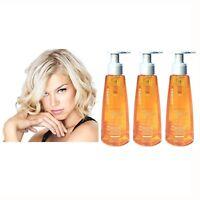 3 Goldwell Color Glow Fluid BE BLONDE Hair Moisture & Color Brilliance Treatment