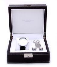 Jos Von Arx Watch and Cuff link Set Mens Gift Set LX11
