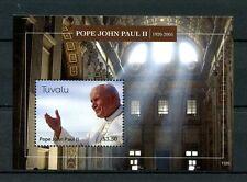 Tuvalu 2013 MNH Pope John Paul II 1920-2005 1v S/S Popes Catholic Church Stamps