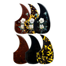 Acoustic Guitar Pickguard Thicker Material Scratch Plate Comma Shape Adhesive