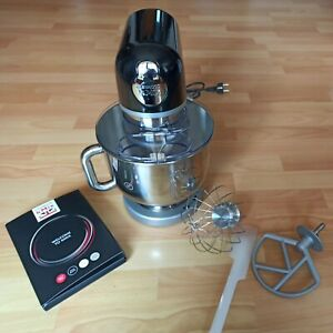 Kenwood kMix KMX750BK Küchenmaschine, 5 l Edelstahl Schüssel, schwarz