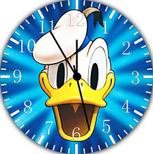 Disney Donald Duck Frameless Borderless Wall Clock Nice For Gifts or Decor E371