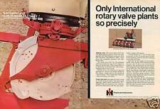 1968 International Harvester IH 656 & 6 Row 58 Planter 2 Page Farm Tractor Ad