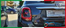 adesivi auto fiat 500x sticker fanali stop posteriori decal carbon look vinile